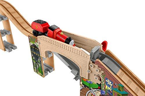 Fisher-Price Thomas & Friends Wooden Railway, Speedy Surprise Drop Set