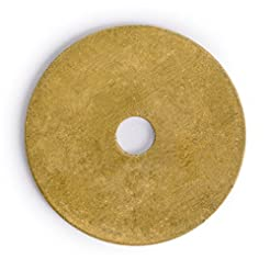 10 Plain Round Washers Brass Hardware 1....