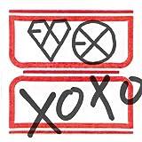 Kpop CD, Exo - 1nd Album : XOXO(Kiss Ver)(Poster ver)[002kr]