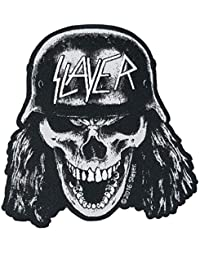 Slayer Wehrmacht Skull Cut Out Woven Patch