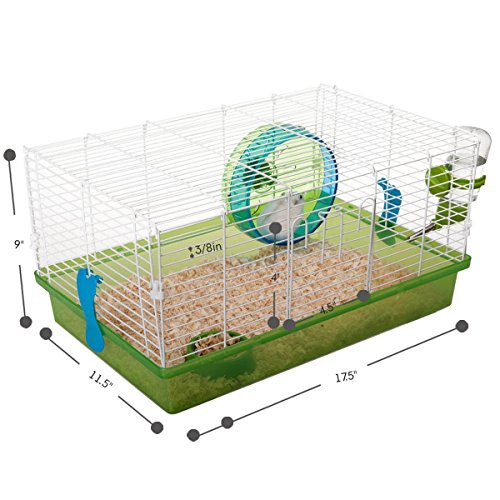 Favorite Small Animal Habitat Hamster Deluxe Pet Cage by Favorite (Image #5)