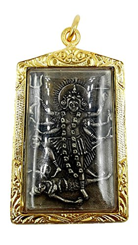 Maha kali goddess the consort of lord shiva uma devi parvati hindu india pendant