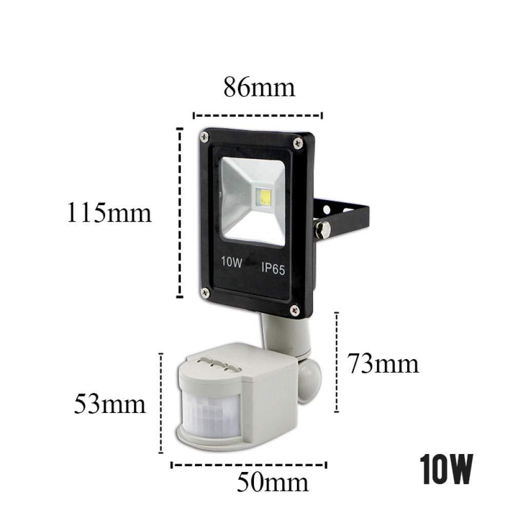 Sensor de movimiento LED Luz de inundación 220V 10W 30W 50W ...