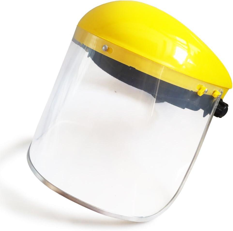 AlIXIN 3021 máscara de protección facial, visera transparente y de seguridad, le da una protección fiable en su vida y trabajo.