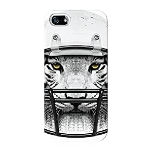 Tiger Quarterback Full Wrap High Quality 3D Printed Case for iPhone 5 / 5s by Gangtoyz + FREE Crystal Clear Screen Protector
