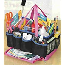 13 Compartment Craft Organizer Storage Tote Bag by SWIVEL TRAY