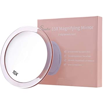 Amazoncom 15x Magnifying Mirror 6 Inches Round With 3