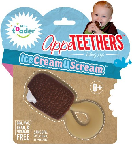 Little Toader Teether - Ice Cream U Scream - Unisex