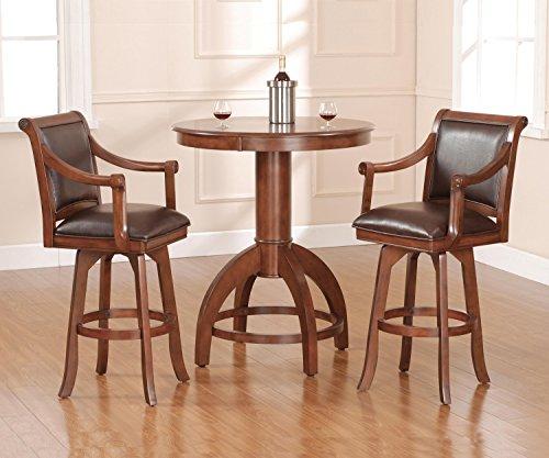(Hillsdale Furniture Palm Springs 3pc Pub Set )