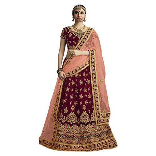 Bridal Lehenga Choli Dupatta Ceremony Wedding Wear Collection Muslim Zari Heavy Work 731 (6)