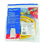 24 gas dryer - 4 ft. Gas Dryer Connector Kit with Auto Shut Off