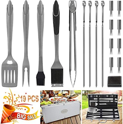 POLIGO Stainless Barbecue Grilling Accessories