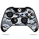 MightySkins Protective Vinyl Skin Decal for Microsoft Xbox One/One S Controller Case wrap cover sticker skins Gray Camouflage