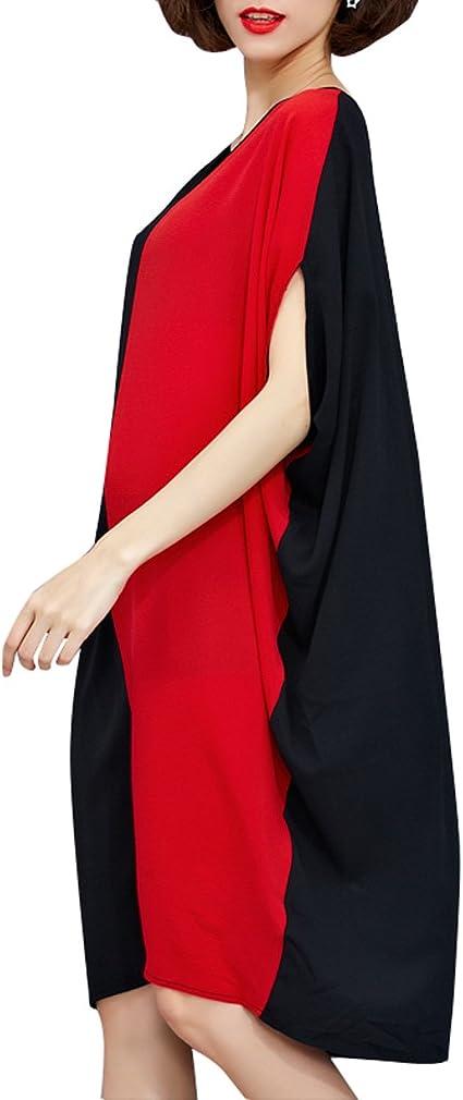 Women Mid-Long Personality Hem Solid Oversize T-Shirt