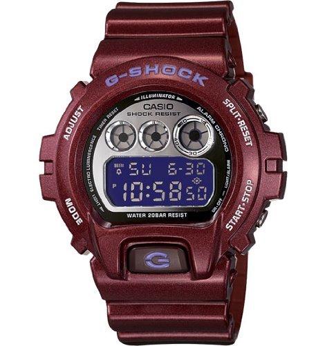 Casio G-Shock 6900 Classic Watch Dark Red Mirror-Metalic 6900 Ltd, One Size
