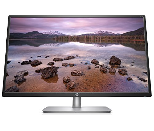 Split Monitor Computer (HP 2UD96AA#ABA 32-inch FHD IPS Monitor with Tilt Adjustment and Anti-Glare Panel (32s, Black/Silver))