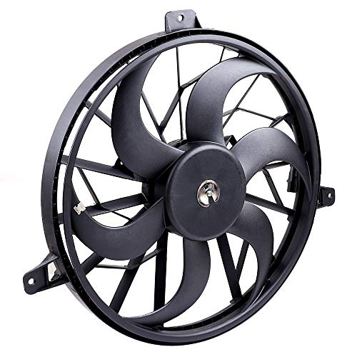 OCPTY Replacement Cooling Fan Assembly for Jeep Grand Cherokee Liberty