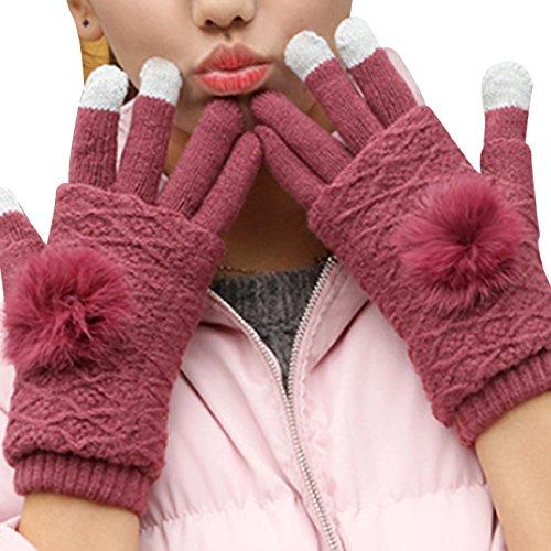 劇場アンタゴニストピアニストスマホ 手袋 レディース ニット 手袋 指なし 暖かい グローブ かわいい 二点セット 2way 冬
