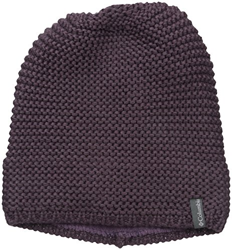 Columbia Women's Cascade Peak Beanie, Dusty Purple, One (Acrylic Peak Beanie)