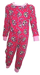 Disney Minnie Mouse Little Girl's Onesie Pyjamas