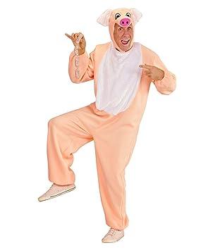 Horror-Shop Disfraz de Cerdo Porky. M: Amazon.es: Juguetes y juegos