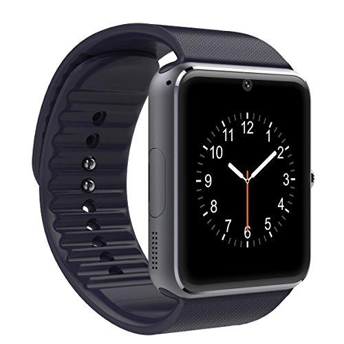Smartwatch Reloj Inteligente VOSMEP Soporte Facebook Twitter Teléfono Inteligente Pulsera 1.54 Pantalla Táctil Cámara para Android Samsung HTC LG ...