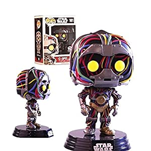 C-3PO Funko POP! Vinyl Bobble Head Unfinished Figurine 181 Star Wars Exclusive (In Original Box)