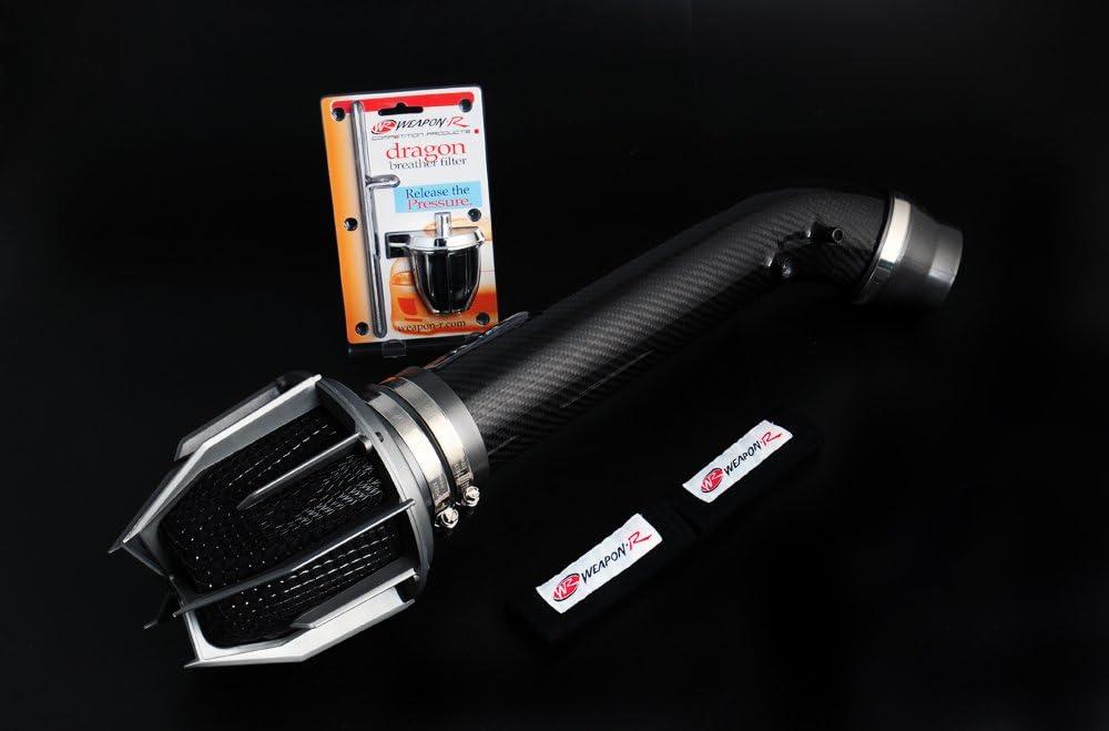 FREE Cold Air Ram Kit Secret Weapon-r Intake 90-93 Mazda Miata 1.6L