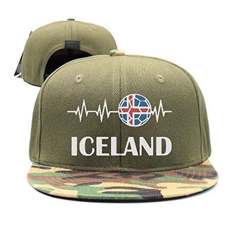 Heartbeat Baseball Men's Soccer Denim Women's Gorras béisbol Hat Hat I Rapper Love Iceland Adjustable Cotton Street longkouishilong nFTAqXxET