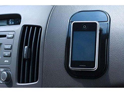 Car Dash-board Mat Non-Slip Sticky Holder Mount Dash Phone Grip Black for Cricket ZTE Sonata 2 - Cricket ZTE Source - MetroPCS Alcatel Fierce 4 - MetroPCS Alcatel OneTouch Evolve ()