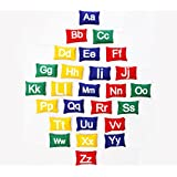 Cintz Bean Bags Set - Alphabets and Numbered Multicolored Sets