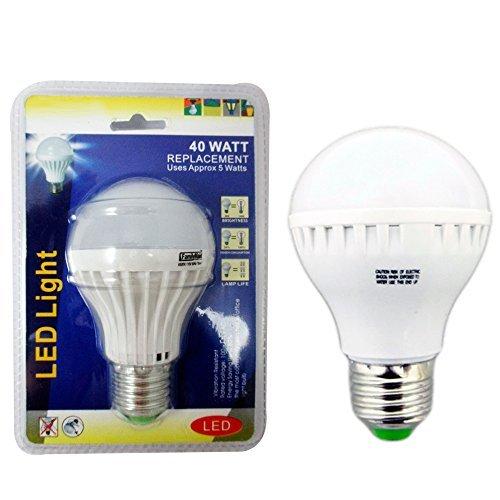 2 40 Watt Energy Saving Bright White Light LED Bulb Lamp Home Office Lighting ! by ATB