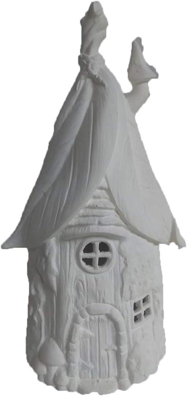 Fairy Garden House U Paint Ceramic Bisque