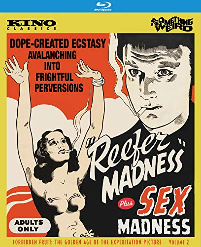 Reefer Madness / Sex Madness(Forbidden Fruit: Golden Age Exploitation Picture Volume 2) [Blu-ray]