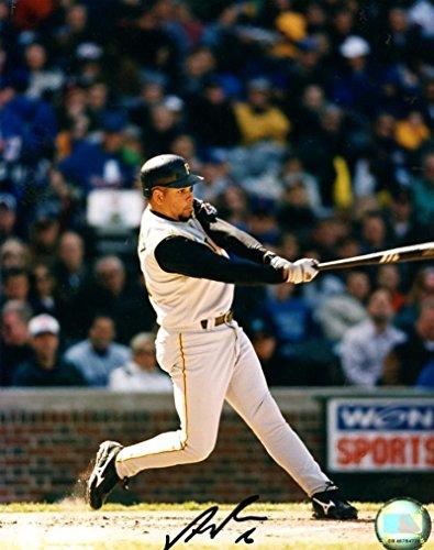 Signed Aramis Ramirez Photograph - Batting 8x10 W coa - Autographed MLB (Aramis Ramirez Photograph)