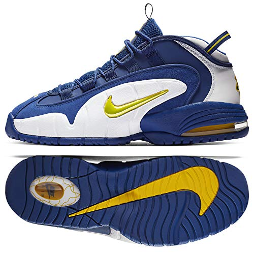 Nike Air Max Penny Men's Shoes Deep Royal/Amarillo White 685153-401 (12 D(M) US)