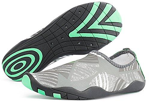 Sandalup Scarpe Acqua Unisex Sport A Piedi Nudi Per La Spiaggia / Nuotare / Camminare Allaperto / Immersioni / Surf E Yoga Esercizio Grigio