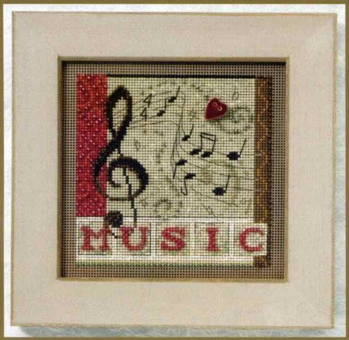 Mill Hill Beaded Cross Stitch - Melody - Buttons and Beads 2011 MH141201       ()