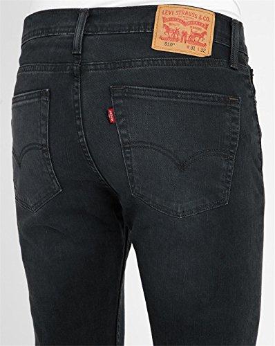Levi's 510 schwarze skinny-jeans