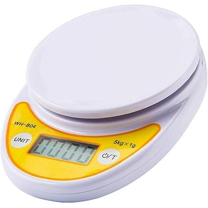 Cucsaist Báscula De Cocina De 5 Kg Escala Electrónica Micro Escala De Alimentos para Hornear Mini