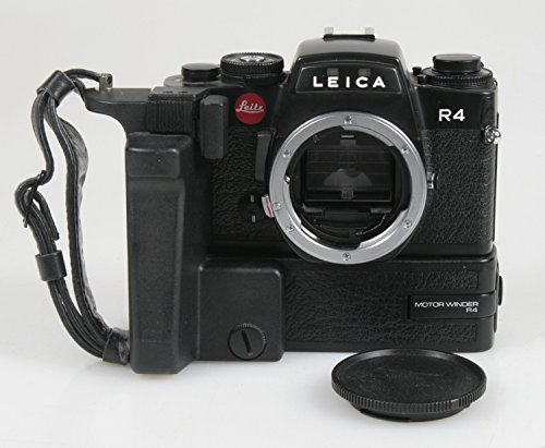LEICA R4 BODY & WINDER W/BODY CAP. SHUTTER FIRES AT ALL SPEEDS