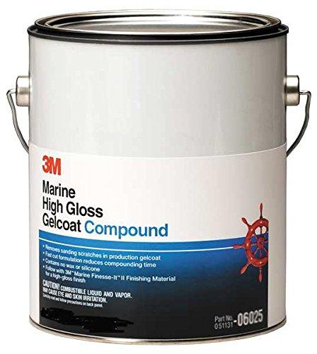 3M (06026) Marine High Gloss Gelcoat Compound, 06026, 50 lbs.