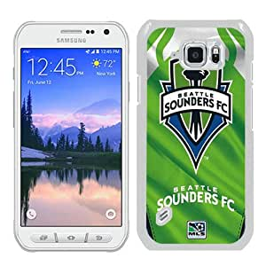 Seattle Sounders FC 13 White Recommended Picture Custom Samsung Galaxy S6 Active Case