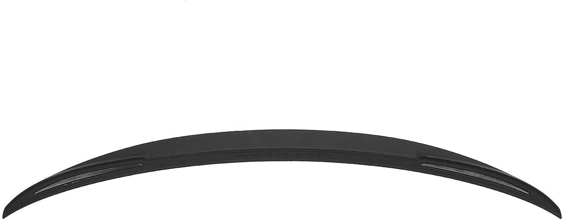 PUNGDUNK Coffre arri/ère Mat ABS Noir Aileron Wing for BMW S/érie 3 F30 Sedan 4 Portes 2012-2017 Performance ABS Voiture Aile arri/ère Divulgacher