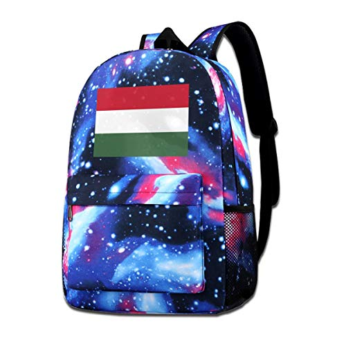 - Jiadeyuan Electronic Techno Flag of Hungary Shoulder BagSuitable ForTeensforSports
