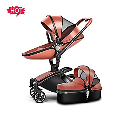 TZ Infant Shock-resistant Luxury High Landscape Folding Aluminum Alloy Frame Baby Stroller Infant Pram Travel System and Bassinet Combo by AULONG that we recomend individually.