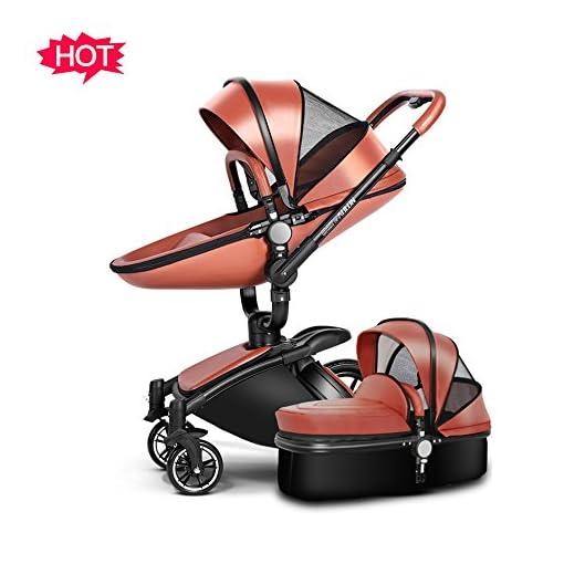SpringBuds-Infant-Shock-Resistant-Stroller-Baby-Pram-Bassinet-and-Toddler-Seat-Combo