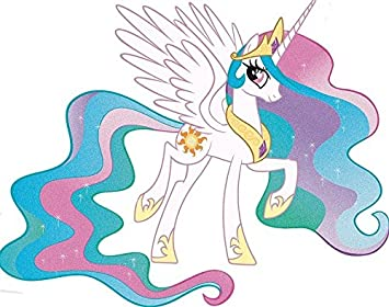11 quot  Princess Celestia Alicorn MLP My Little Pony Removable Peel Self  Stick Adhesive Vinyl Decorative 561bbb53a
