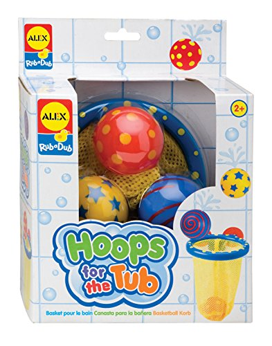 ALEX Toys Rub a Dub Hoops for the Tub