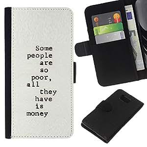 EJOY---La carpeta del tirón la caja de cuero de alta calidad de la PU Caso protector / Samsung ALPHA G850 / --máquina de escribir texto escritor pobre inspirador